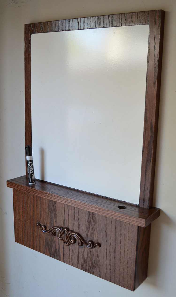 White Board With Hidden Compartment To Hide Guns And Valuables