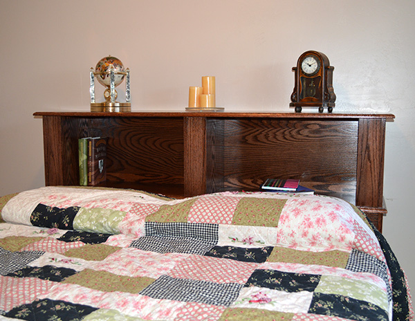 Bed Headboard With Hidden Compartments