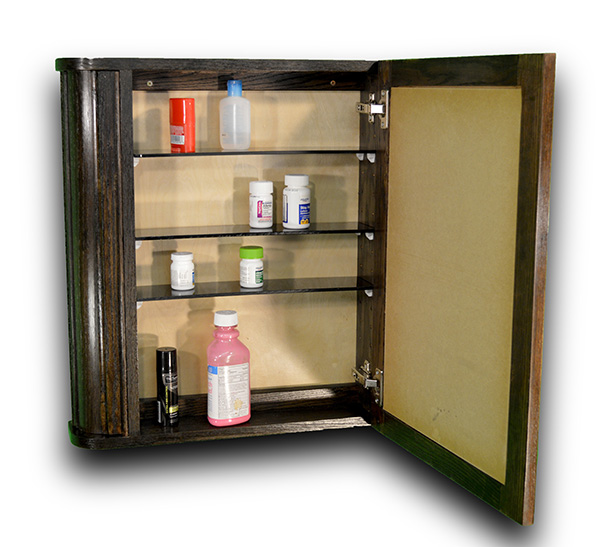 Medicine Cabinet W Ith Hidden Compartments To Hide